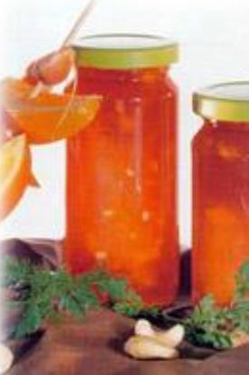 Konfitura pomarańczowo - marchewkowa