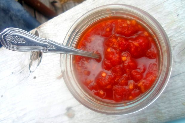Konfitura pomidorowa z chilli i imbirem