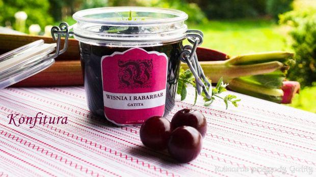 Konfitura wiśniowo-rabarbarowa z kardamonem