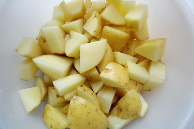Koperkowa na jogurcie z ziemniakami