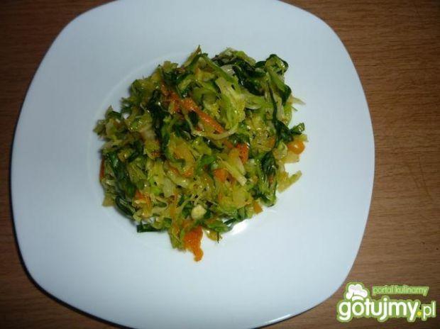 Kopiec smaków z warzywkami