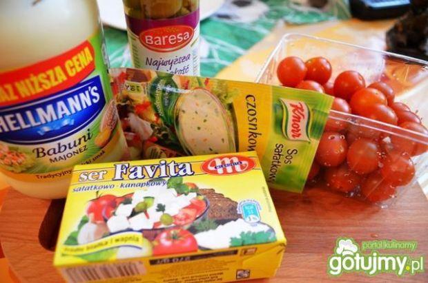 Koreczki kokatajlowe z oliwką