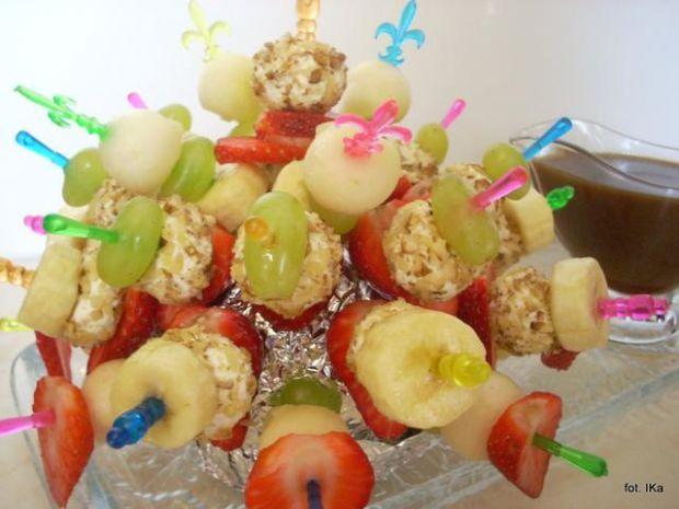 Koreczki owocówki - deserówki