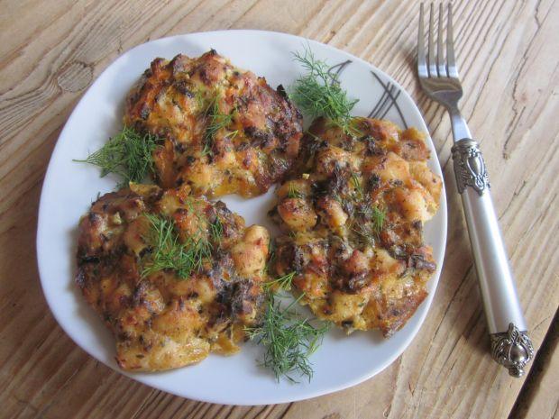 Kotleciki drobiowo- warzywne (z piekarnika)