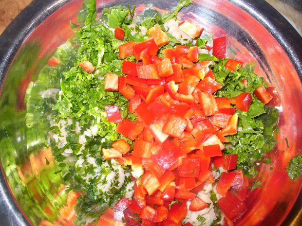 Kotleciki indycze z warzywami