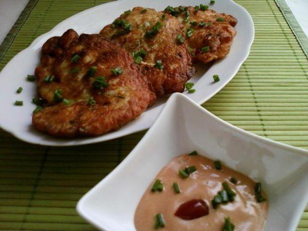 Kotleciki majonezowe z kurczakiem