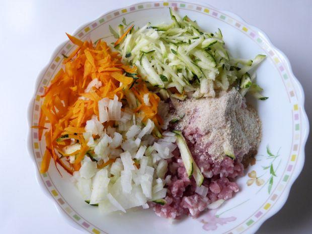 Kotleciki mielone z warzywami