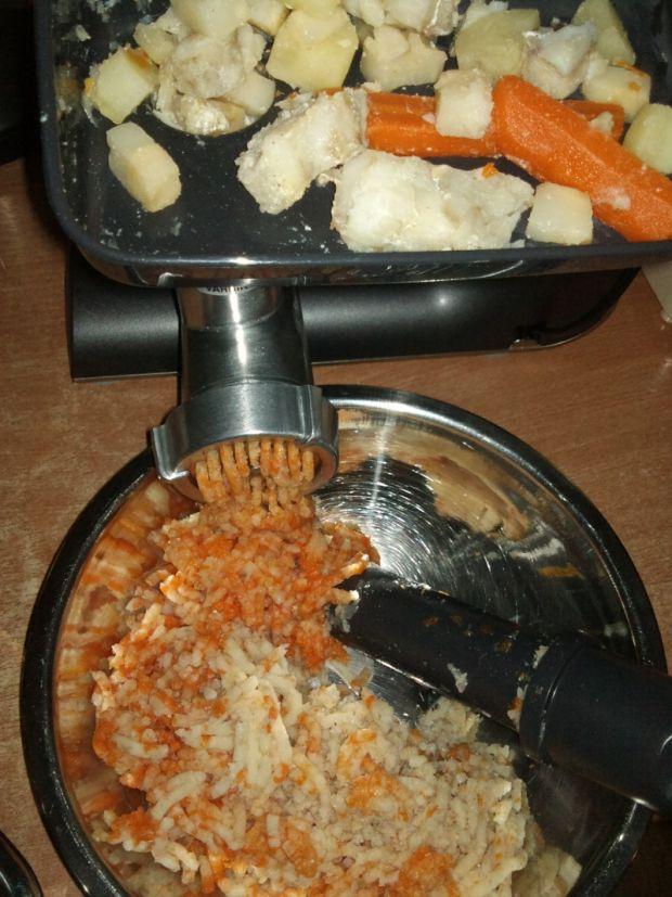 Kotleciki rybno-warzywne