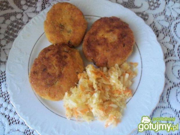 Kotleciki ryżowe z marchewką