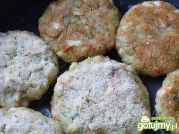 Kotleciki z brokuła i kalafiora