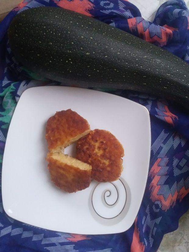 Kotleciki z cukinii z serem żółtym