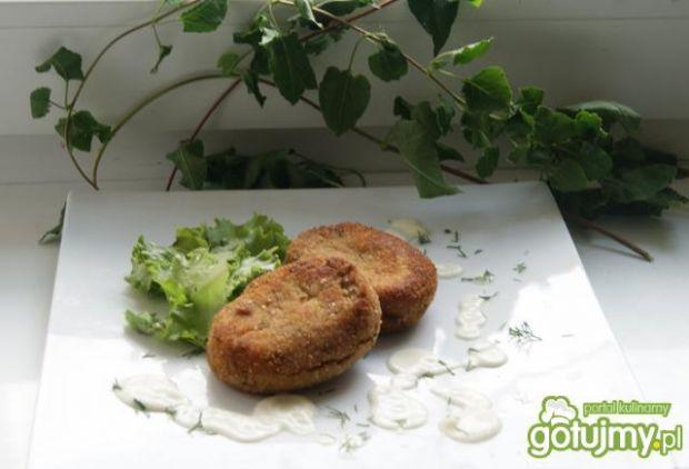 Kotleciki z gotowanego kurczaka: