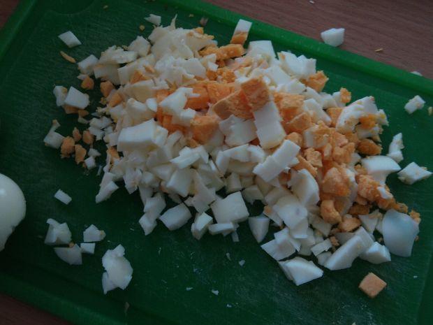 Kotleciki z kaszy jaglanej, jajek i pieczarek