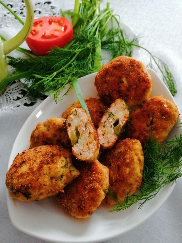 Kotleciki z kurczaka z mozzarellą