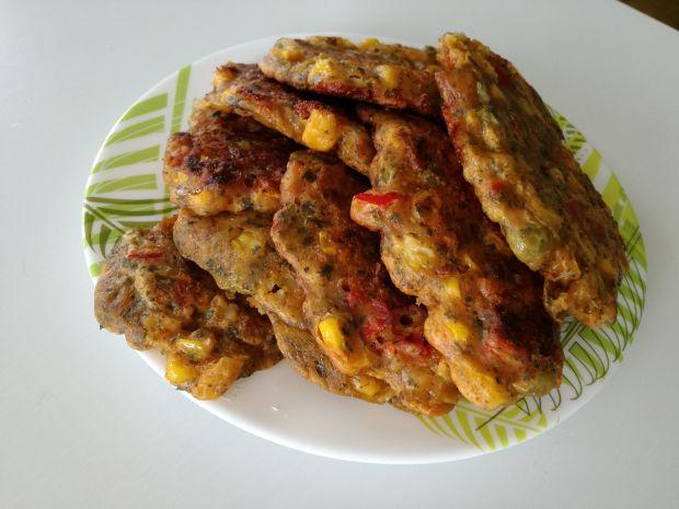 Kotleciki z patisonem i kukurydzą