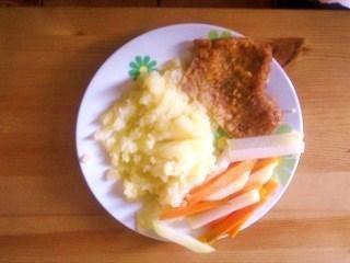 Kotlet i warzywa zestaw nr 2