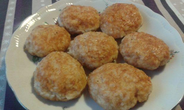 Kotlety drobiowo - ryżowe