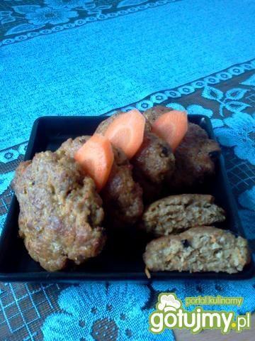 Kotlety mielone z marchewką z piekarnika