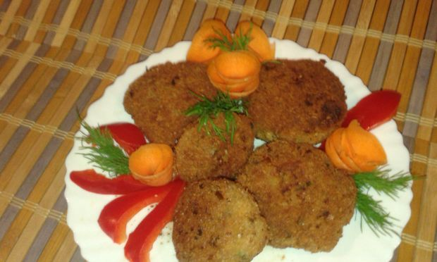 Kotlety mielone z warzywami
