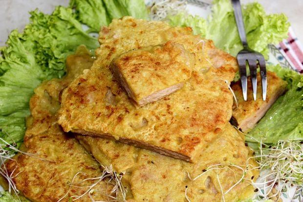 Kotlety sojowe w cieście serowym z curry