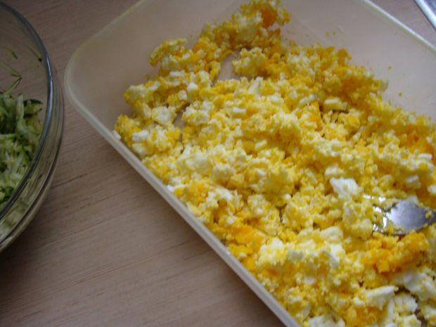 Kotlety z jajek i cukinii