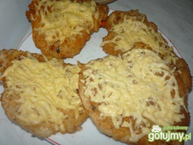 Kotlety z serem żółtym