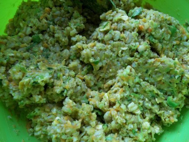 Kotlety z warzyw i pęczaku