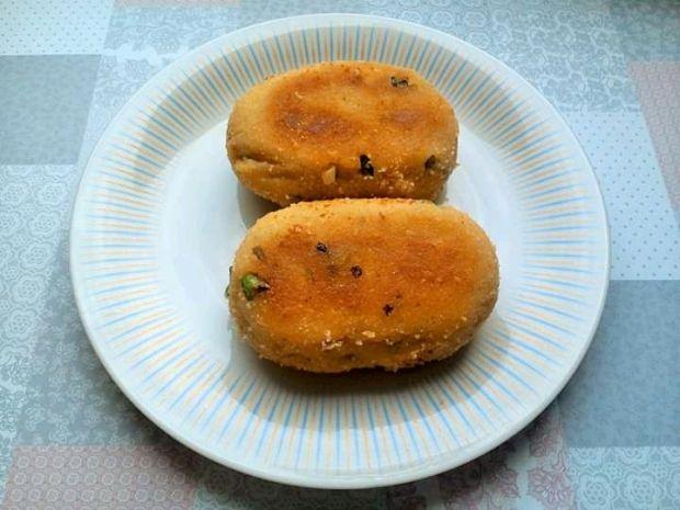 Kotlety ziemniaczane z puree ziemniaczanego