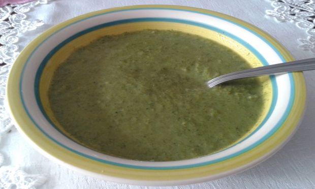Krem brokułowo - porowy