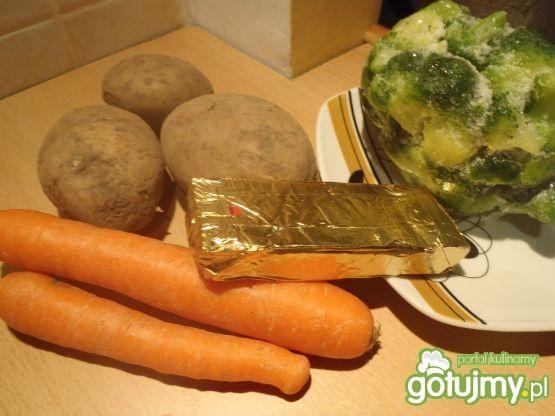 Krem brokułowo-ziemniaczny