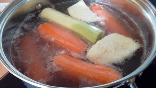 Krem brokułowy z kurczakiem