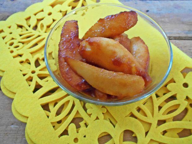 Krem jaglany z gruszkami