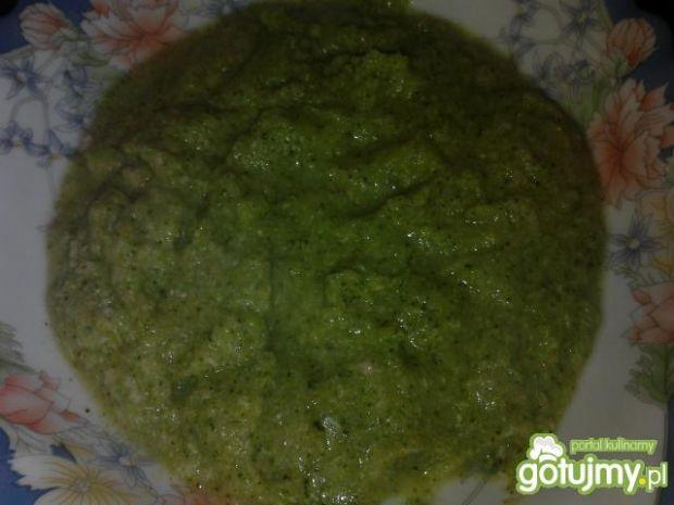 Krem z brokułów dla maluszka