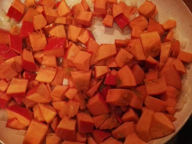 Krem z dyni z pomarańczową nutą