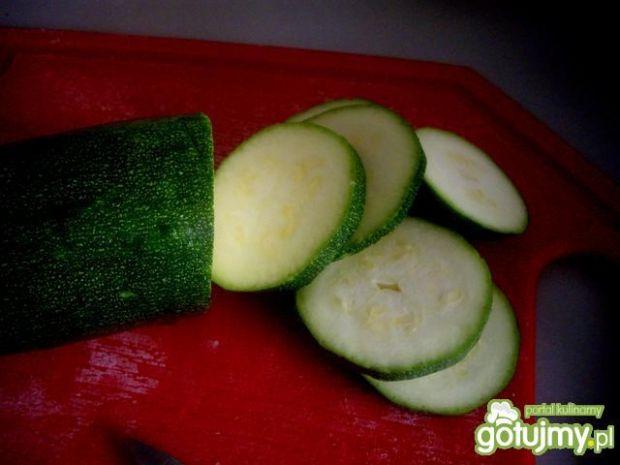 Krem z grillowanej cukinii i ziemniaków