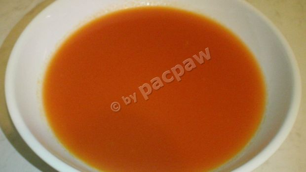 Krem ze świeżych pomidorów