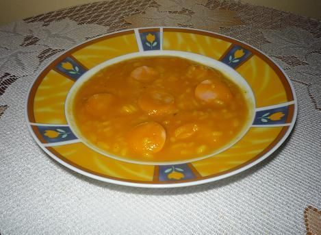 Kremowa zupa dyniowo-marchewkowa
