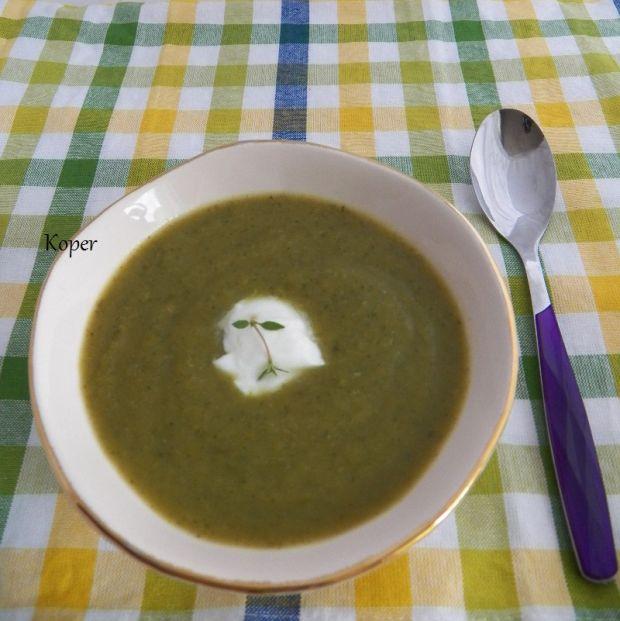 Kremowa zupa z cukinii
