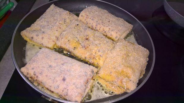 Krokiety z gotowanym mięsem i suszonymi grzybami