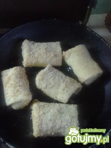 Krokiety z kapustą ,grzybami i mięsem