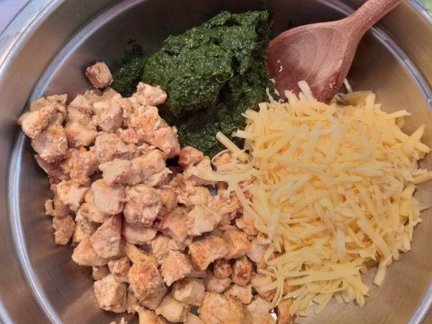 Krokiety z kurczakiem i szpinakiem