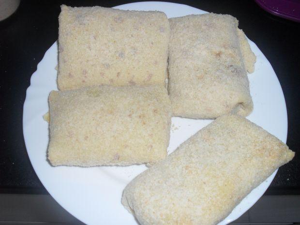 Krokiety z mięsem mielonym i serem
