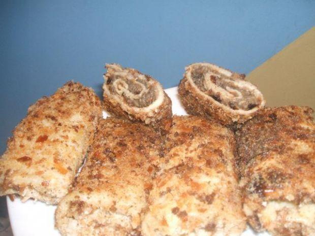 krokiety z pieczarką i sosem sojowym