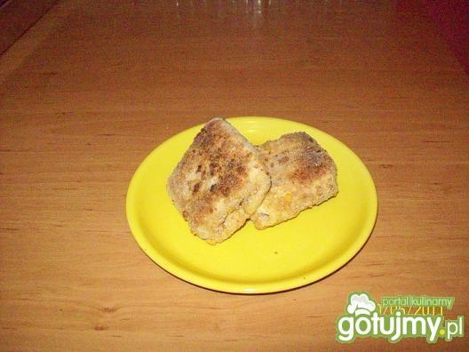 Krokiety z pieczarkami i mozzarellą