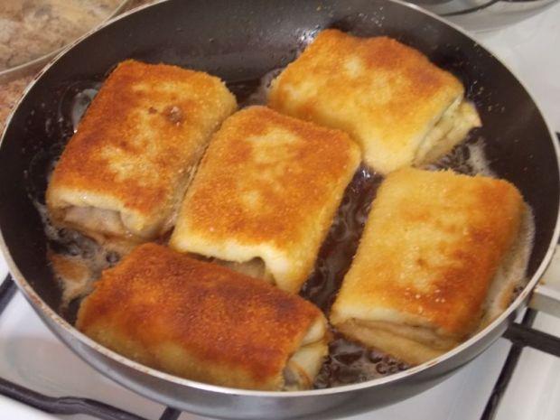Krokiety z pieczarkami i serem żółtym