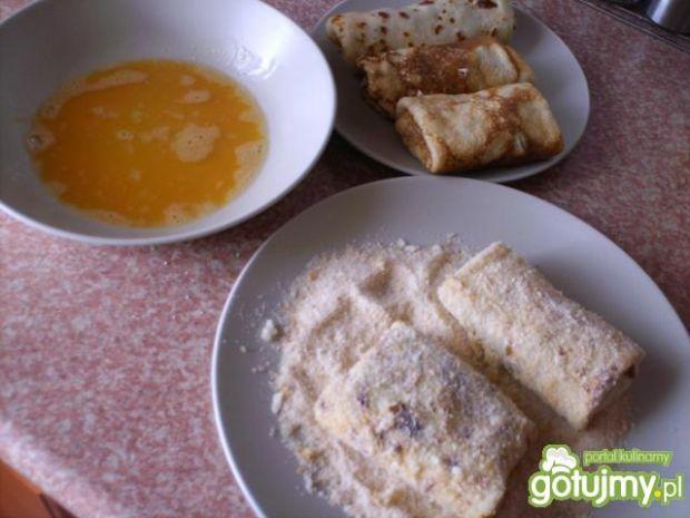 Krokiety z pieczarkami i żółtym serem