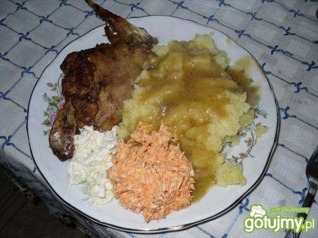 Królik na świateczny obiad