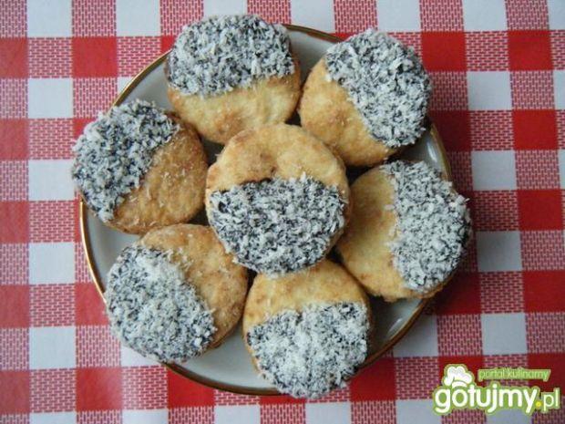 Kruche ciasteczka z kokosem