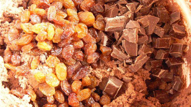 Kruche czekoladowe ciasteczka z dodatkami