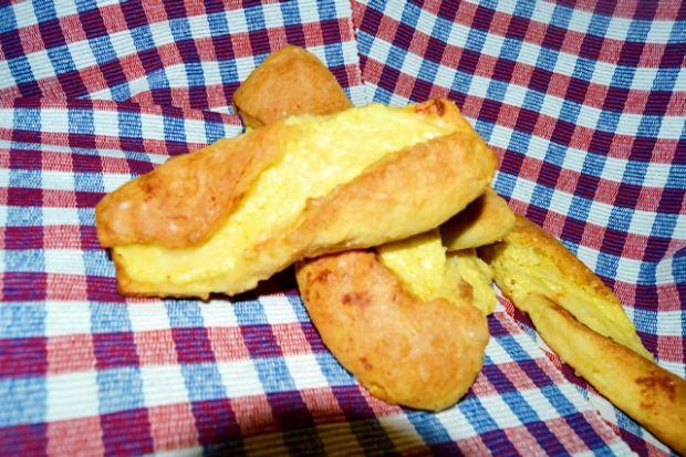 kruche drożdżówki z serem